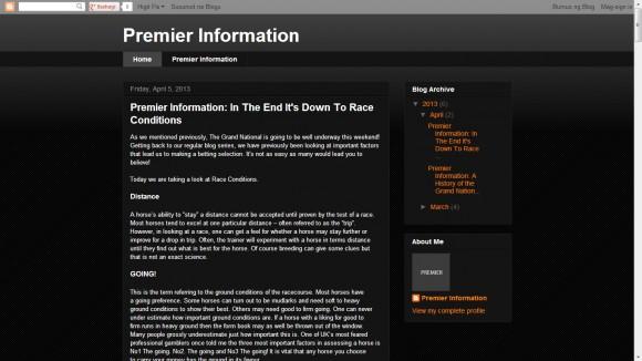 Premier Information