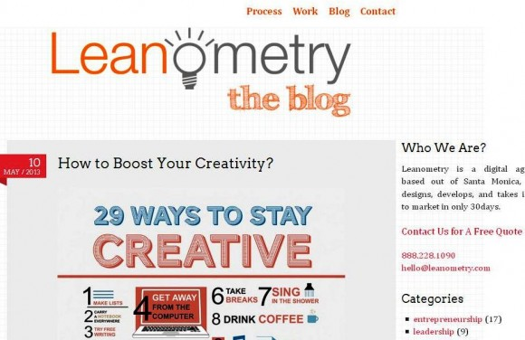 The Leanometry Blog