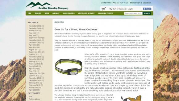 Boulder Running Company Blog
