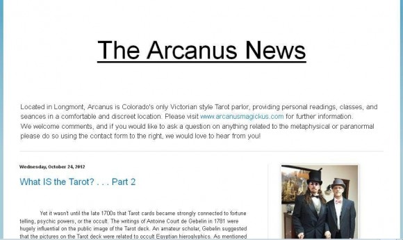 The Arcanus News