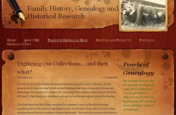 Pearls of Genealogy
