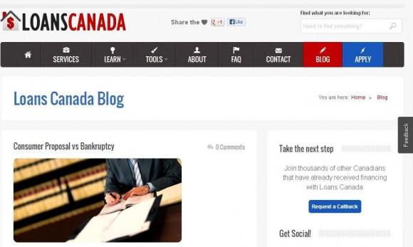 Loans Canada Blog