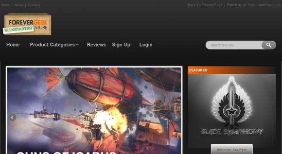 Forever Geek Kickstarter Store