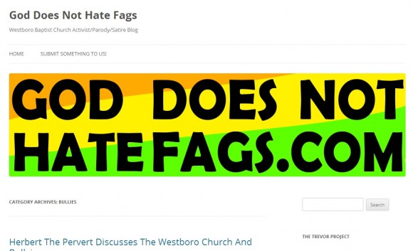 God Does Not Hate Fags