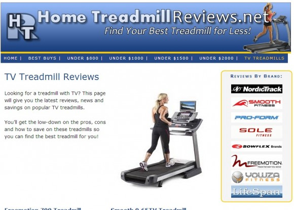 Home Treadmill Reviews