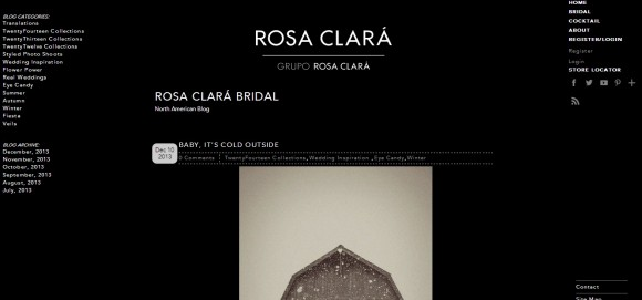 Rosa Clara Bridal – North American Blog
