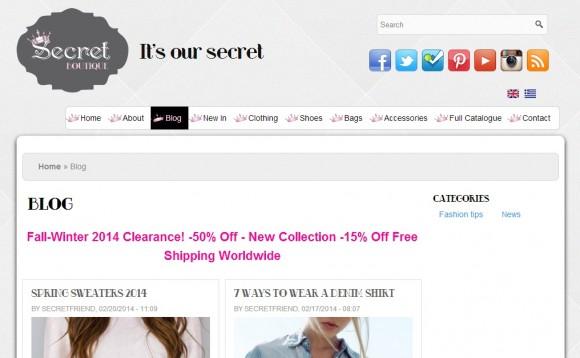 03e467329503 Secret Boutique - Blog Search Engine