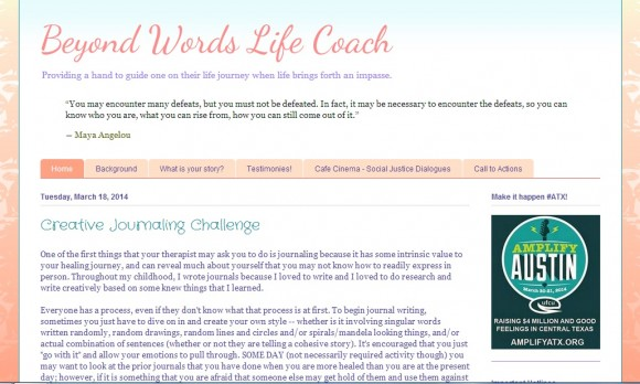 Beyond Words Life Coach