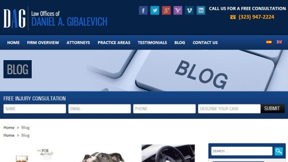 Daniel Gibalevich Injury Blog