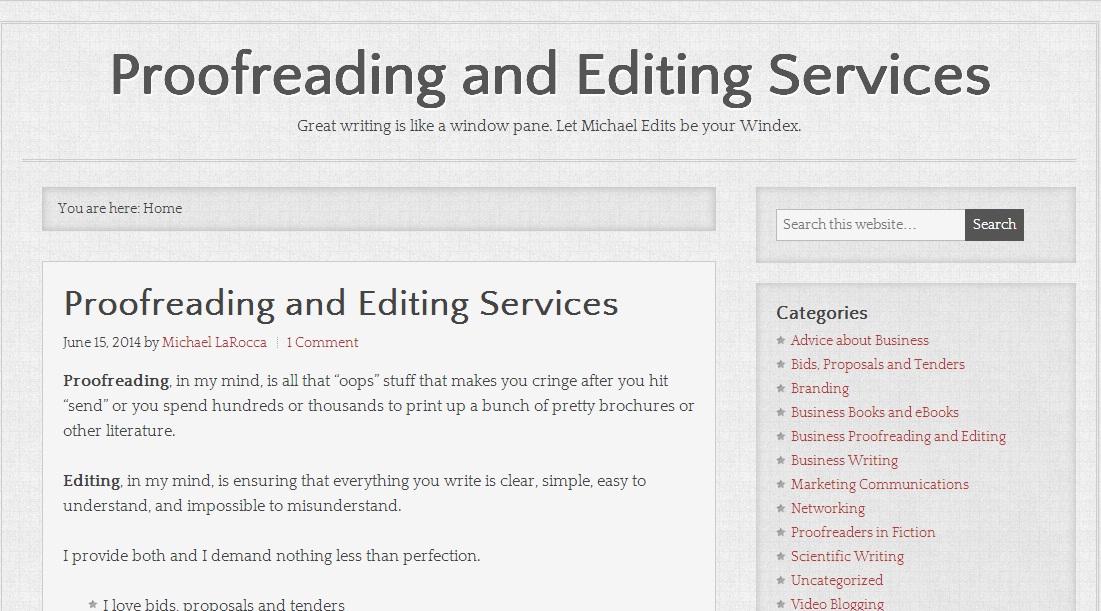 Popular Presentation Proofreading Services