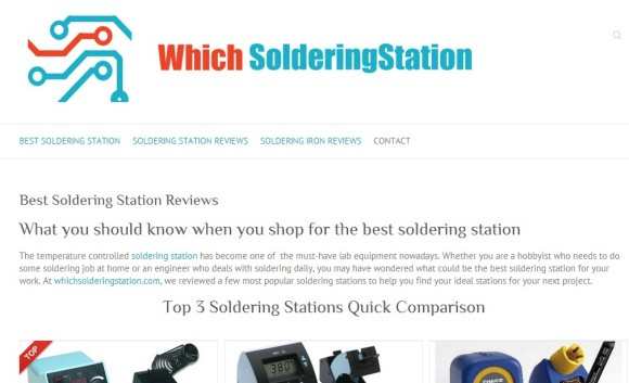 Which soldering station