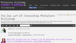 Permalink to The Zen Art Of Conquering Workplace Bullying post image