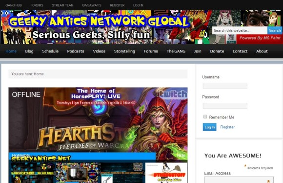 Geeky Antics Network Global