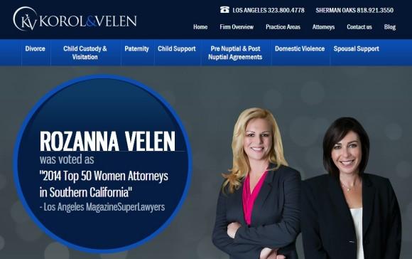 Korol and Velen Divorce Blog