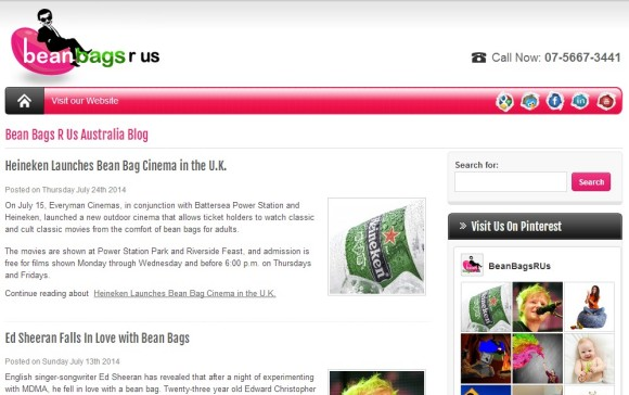 Bean Bags R Us Australia Blog