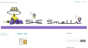 Permalink to SHE Smells Sweet post image