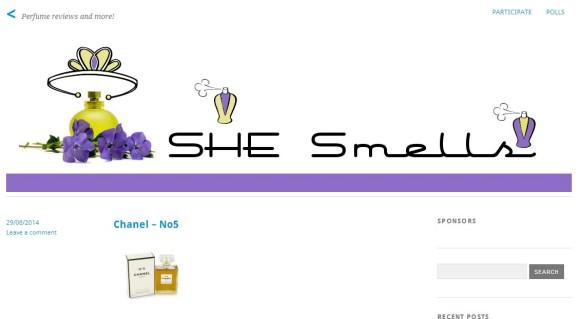 SHE Smells Sweet