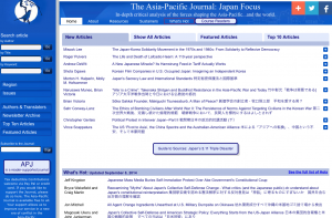 Permalink to The Asia-Pacific Journal: Japan Focus post image
