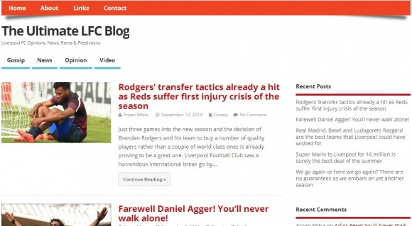 The Ultimate LFC Blog