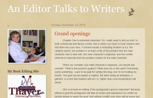 Permalink to An Editor Talks to Writers post image