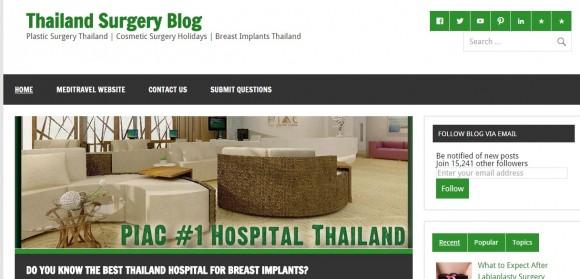 Thailand Surgery Blog