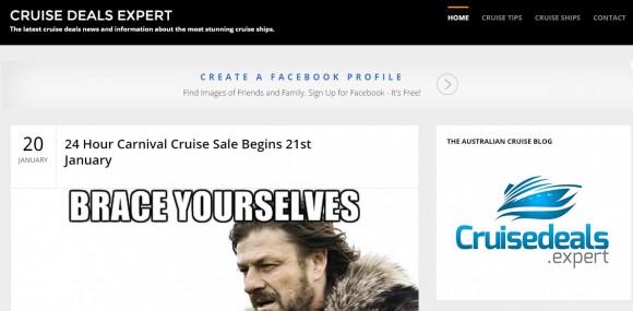 Cruise Deals Expert
