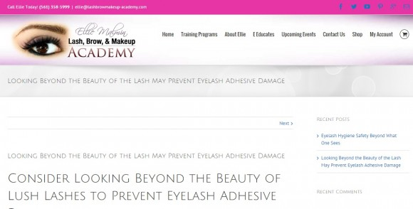 Looking Beyond the Beauty of the Lash May Prevent Lash Damage