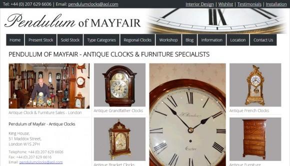 Pendulum of Mayfair