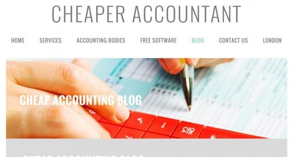 Cheap Accounting Blog