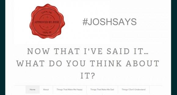 Josh Says