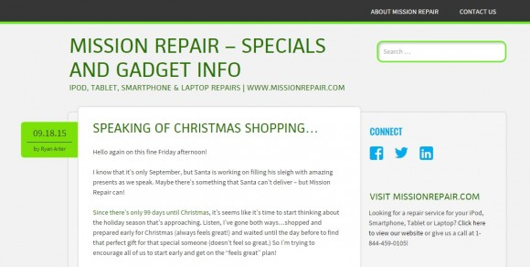 Mission Repair Blog – Electronics and Gadget Info!