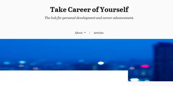 Take Career of Yourself