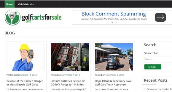 Golf Carts For Sale Blog