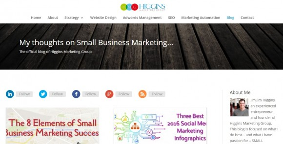 Higgins Marketing Group Blog