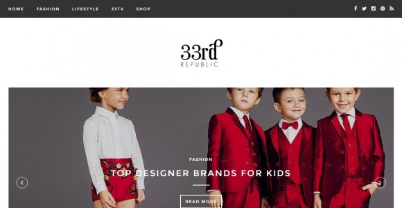 Fashion for Stylish Kids by 33rd Republic