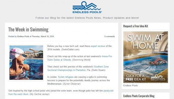Endless Pools Blog