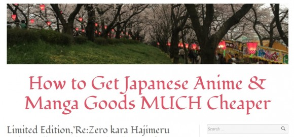 How to Get Japanese Anime & Manga Goods MUCH Cheaper
