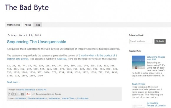 The Bad Byte