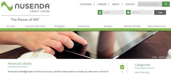 Nusenda Credit Union Blog