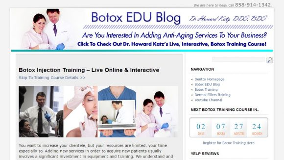 Botox Education & Training News