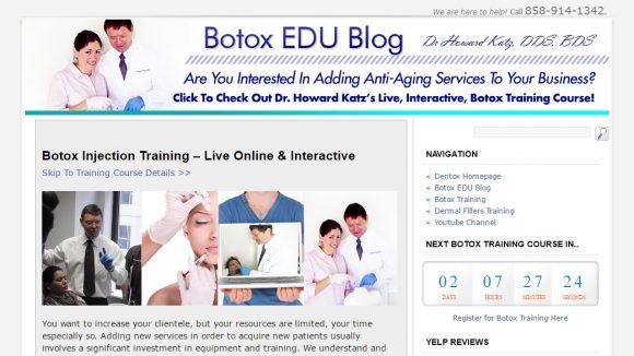 Botox Education & Training News