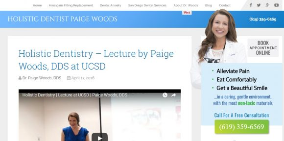 Holistic Dentist Paige Woods