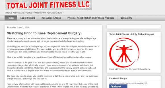 Total Joint Fitness LLC