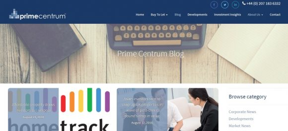 Prime Centrum UK Property Investment