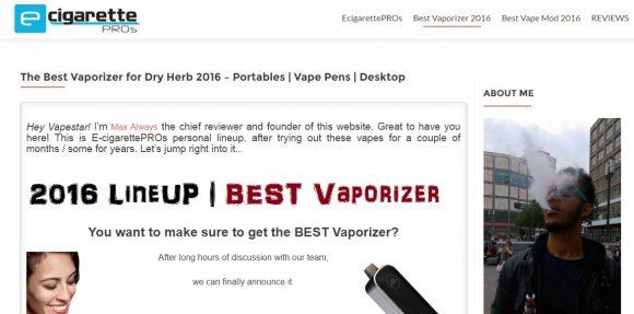 E-CigarettePROs