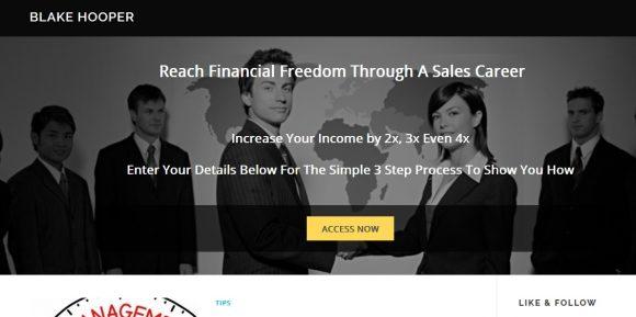 Increase Income Through Sales – Blake Hooper
