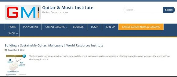 Latest Guitar News & Lessons