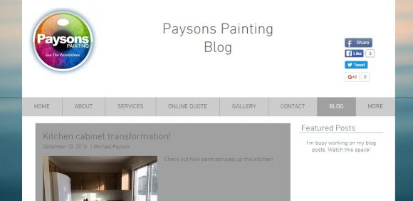 Payson's Painting Blog