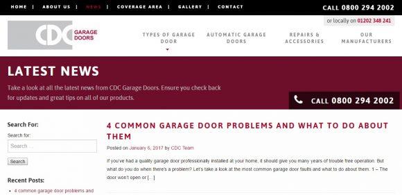CDC Garage Doors Blog