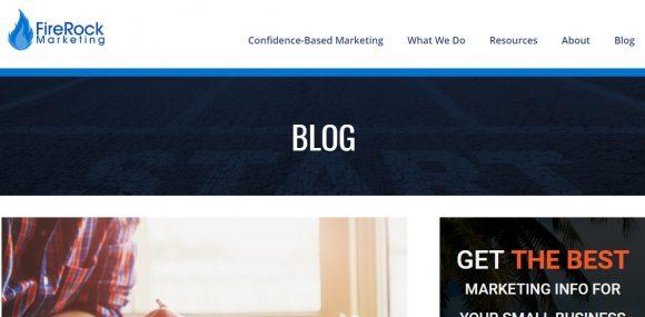 FireRock Marketing Blog